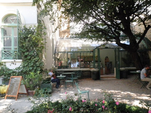 Jardin du mus e de la vie romantique paris maman moi - Jardin du musee de la vie romantique ...