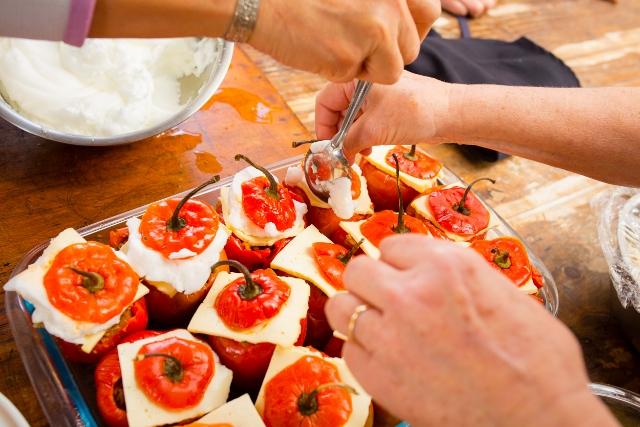 Cours gratuits de cuisine p ruvienne sur le march - Cour de cuisine gratuit ...